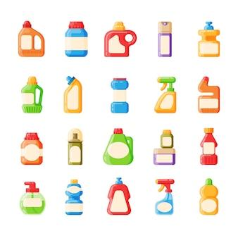 Icona di raccolta contenitore vuoto pacchetto bottiglia