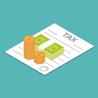 Icona di rimborso fiscale