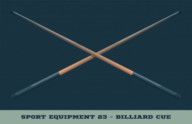 Icona di stecca da biliardo