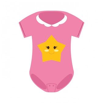 Icona di vestiti del bambino
