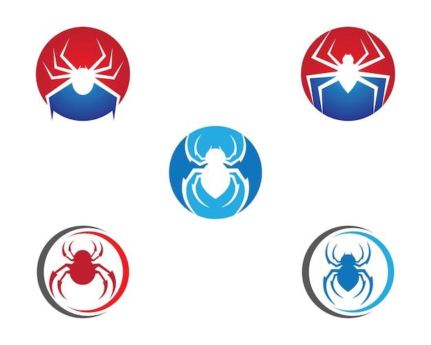 Icona di vettore di ragno