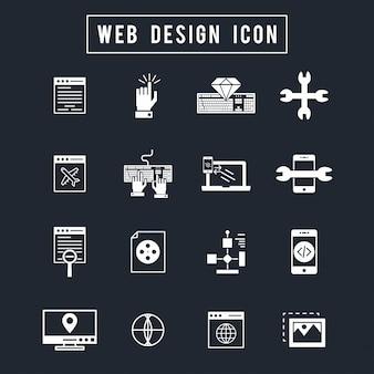 Icona di web design