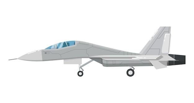 Icona isolata velivolo d'assalto del jet