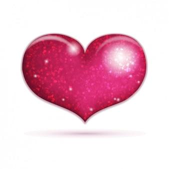 Icona lucida del cuore