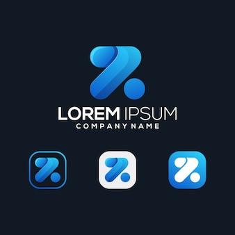 Icona premium di lettera z