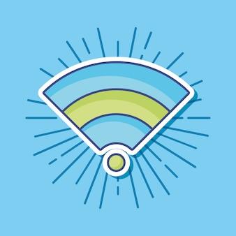 Icona simbolo wifi