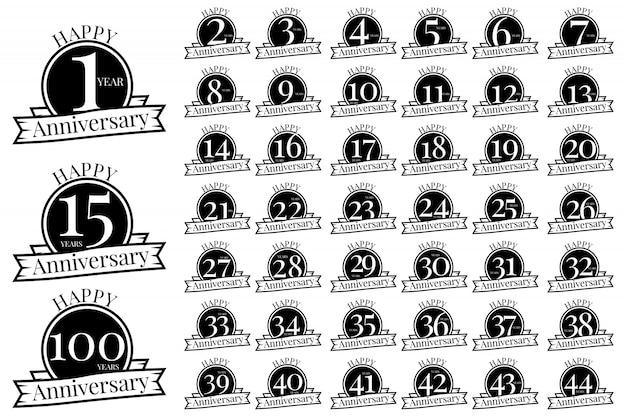 Icona stock anniversario