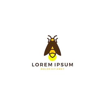 Icona vettoriale logo firefly