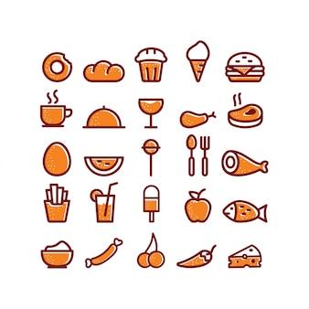 Icone alimentari e bevande