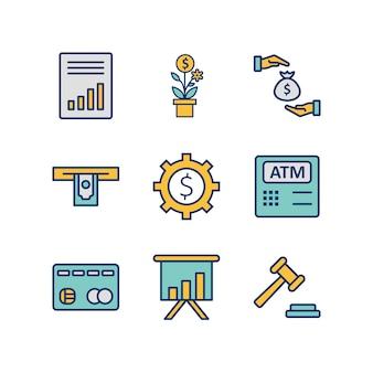 Icone bancarie