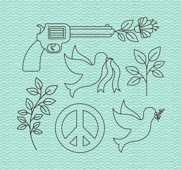 Icone dei diritti umani e della pace