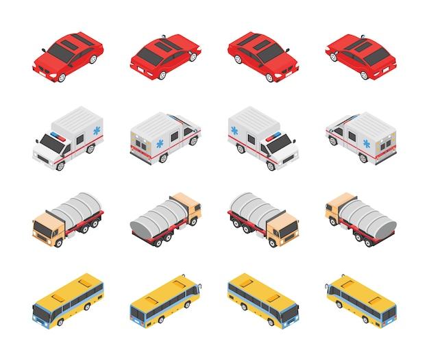 Icone del tipo di trasporto