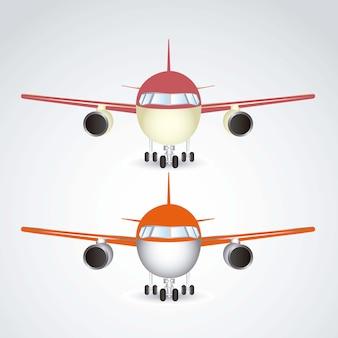 Icone dell'aeroplano
