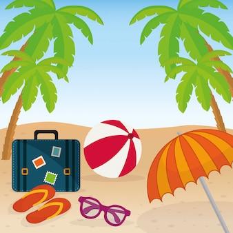 Icone dell'estate