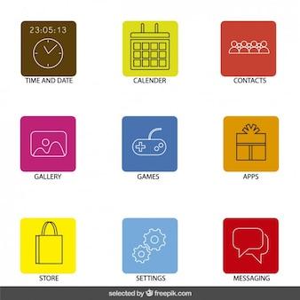 Icone delle applicazioni