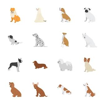 Icone di cani da compagnia