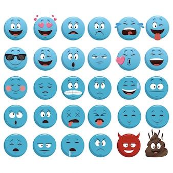 Icone di chat emojis