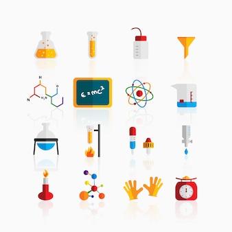 Icone di chimica