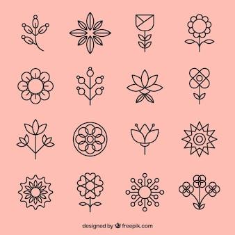 Icone di fiori