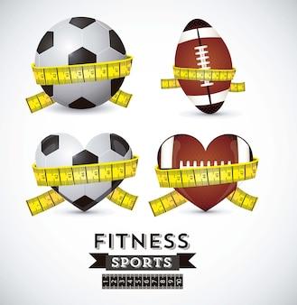 Icone di fitness