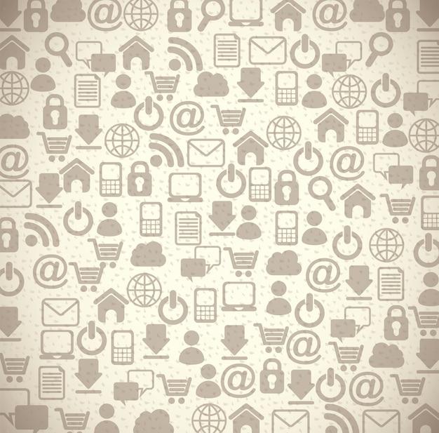 Icone di internet