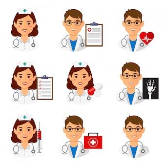 Icone di medicina