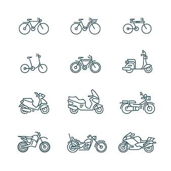 Icone di moto
