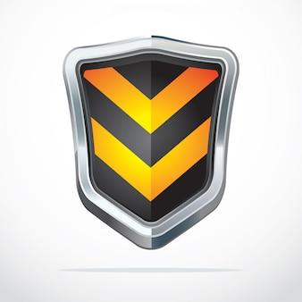 Icone di sicurezza scudo di protezione.