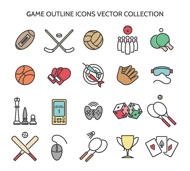 Icone di struttura del gioco