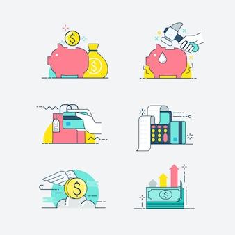Icone finanziarie