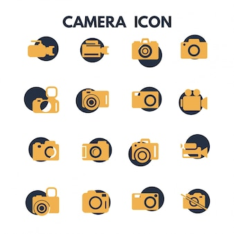 Icone fotografia fotocamera