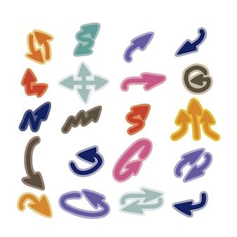 Icone freccia