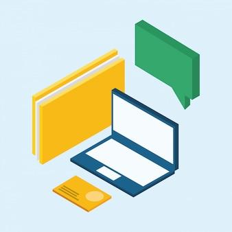 Icone isometriche portatile