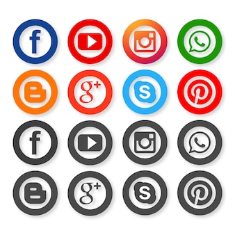 Icone per i social network