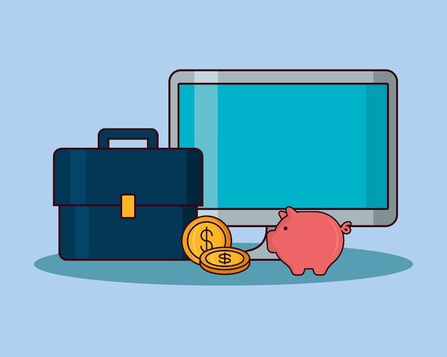 Icone relative al denaro