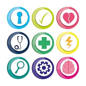 Icone sane per la cura della mentalità umana