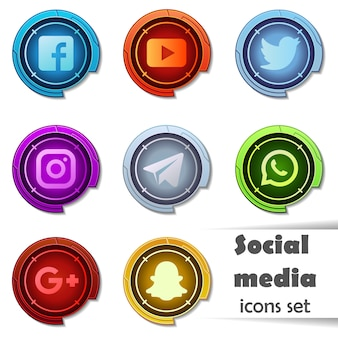 Icone social media.