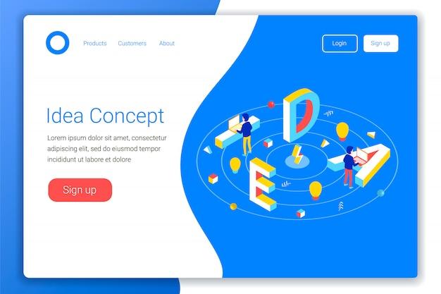 Idea concept design.