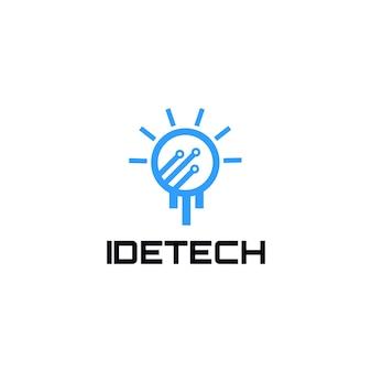 Idea logo tech