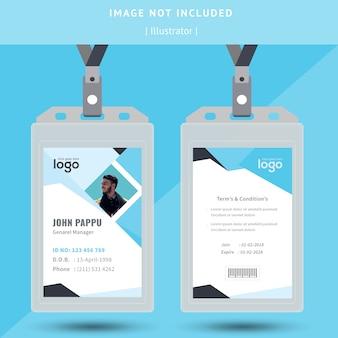 Identificazione astratta o progettazione di carte d'identità
