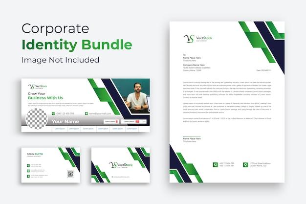 Identità aziendale verde
