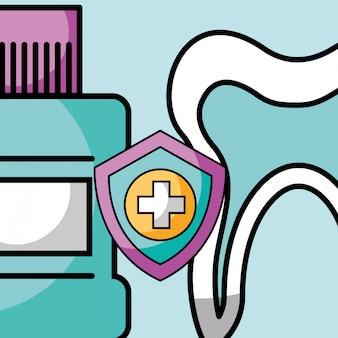 Igiene orale protezione collutorio