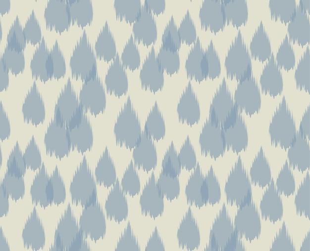 Ikat seamless pattern design per tessuto