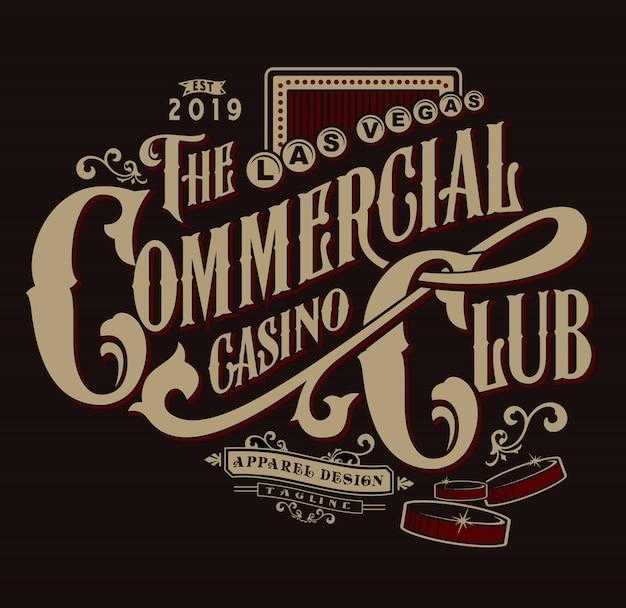 Il club del casinò commerciale