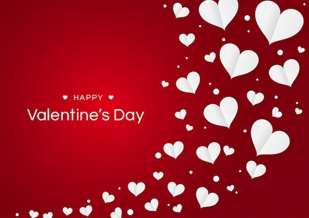 Il cuore fiorisce il san valentino