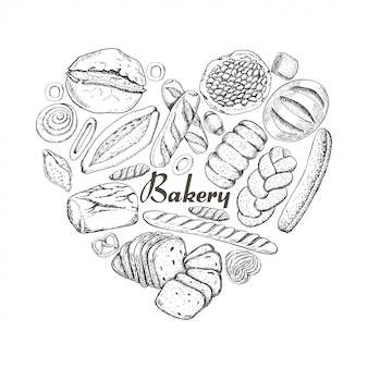 Il cuore isolato dei prodotti da forno