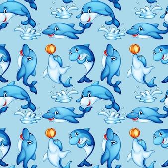Il delfino senza giunte