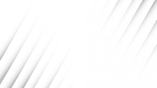 Il design dello sfondo bianco ha un'ombra attraente. elegante stile in carta nera.