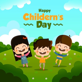 Il design di childern's day