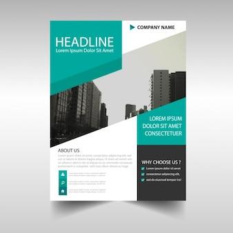 Il design modello di brochure